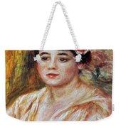 Renoir: Adele Besson, 1918 Weekender Tote Bag