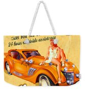 Rent A Car Weekender Tote Bag