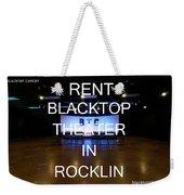 Rent Blacktop Theater In Rocklin, Ca Weekender Tote Bag