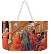 Renunciation Of Peter 1311 Weekender Tote Bag