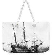Replica Of Columbus's Nina Weekender Tote Bag
