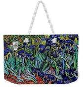 replica of Van Gogh irises Weekender Tote Bag