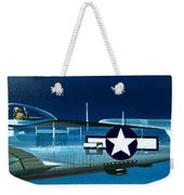 Republic P-47n Thunderbolt Weekender Tote Bag