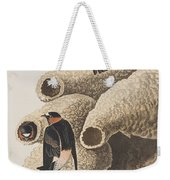 Republican Or Cliff Swallow Weekender Tote Bag