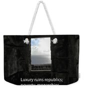 Republics And Monarchies Weekender Tote Bag