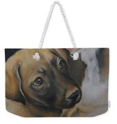 Rescue Pup Weekender Tote Bag