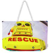 Rescue Yellow Bot Weekender Tote Bag
