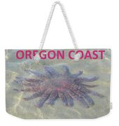 Rescued Sunflower Starfish Weekender Tote Bag