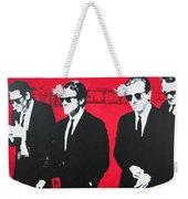 Reservoir Dogs 2013 Weekender Tote Bag by Luis Ludzska