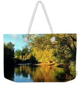 Yamhill River Reflections Weekender Tote Bag