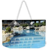Resort With Swimming Pool Weekender Tote Bag