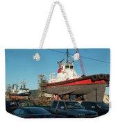 Response In Anacortes Drydock Weekender Tote Bag