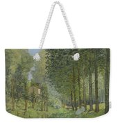 Rest Along The Stream - Edge Of The Wood Weekender Tote Bag