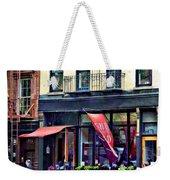 Restaurant In Chelsea Weekender Tote Bag