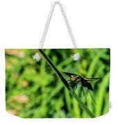 Resting Alert Dragonfly Weekender Tote Bag