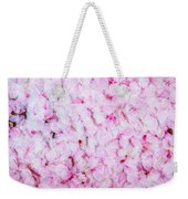 Resting Cherry Blossom Petals Weekender Tote Bag