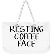 Resting Coffee Face-art By Linda Woods Weekender Tote Bag