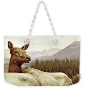 Resting Deer Weekender Tote Bag