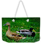 Resting Ducks Weekender Tote Bag