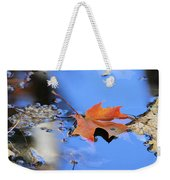 Resting On Gold And Blue Weekender Tote Bag