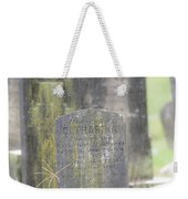 Resting Place In The Rain Weekender Tote Bag