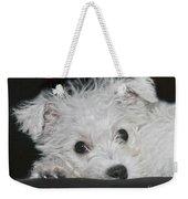 Resting Puppy Weekender Tote Bag