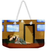 Resting Under The Light Weekender Tote Bag