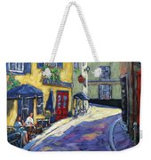Resto Le Cochon Dingue  In Old Quebec Weekender Tote Bag