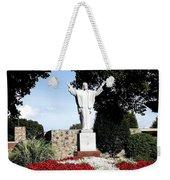 Resurrection Of Jesus Statue Weekender Tote Bag by Rose Santuci-Sofranko