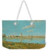 Rethymno Harbour - Crete Weekender Tote Bag