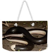 Reticulate Worm Snake Weekender Tote Bag