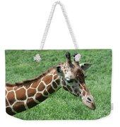 Reticulated Giraffe #3 Weekender Tote Bag