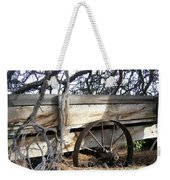 Retired Farm Wagon Weekender Tote Bag
