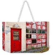 Retired Garage Weekender Tote Bag