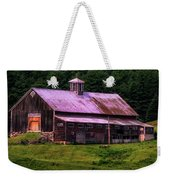 Retired Vermont Farm Weekender Tote Bag