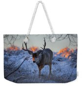 Retreat From The Sunrise Weekender Tote Bag