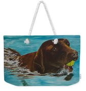 Retriever Play Weekender Tote Bag