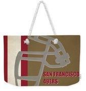 Retro 49ers Art Weekender Tote Bag