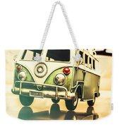 Retro 60s Toy Van Weekender Tote Bag