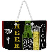 Retro Beer Sign-jp2915 Weekender Tote Bag