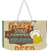 Retro Beer Sign-jp2917 Weekender Tote Bag
