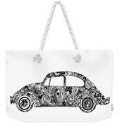 Retro Beetle Car 2 Weekender Tote Bag