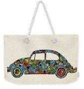 Retro Beetle Car 3 Weekender Tote Bag