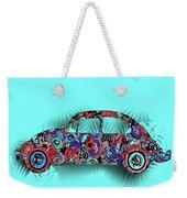 Retro Beetle Car 5 Weekender Tote Bag