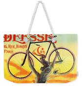 Retro Bicycle Ad 1898 Weekender Tote Bag