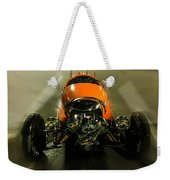 Retro Car In Orange Weekender Tote Bag