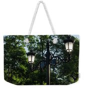 Retro Chic Streetlamps - Old World Charm With A Modern Twist Weekender Tote Bag