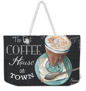 Retro Coffee 2 Weekender Tote Bag