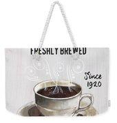 Retro Coffee Shop 2 Weekender Tote Bag