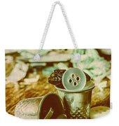 Retro Craft Buckets Weekender Tote Bag